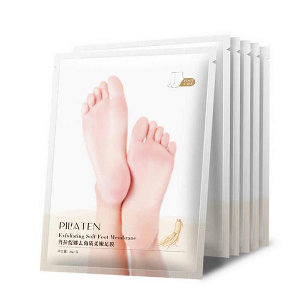 2Pairs Exfoliating Foot Mask Socks For Pedicure Baby Foot Peel Feet Mask Skin Care detox holika holika ayak cosmetics peeling R0058