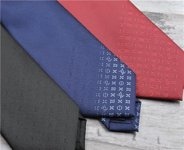 Classic brand tie high-grade men's ties yarn-dyed silk tie wedding business high-end gift box tie 6.0 cm