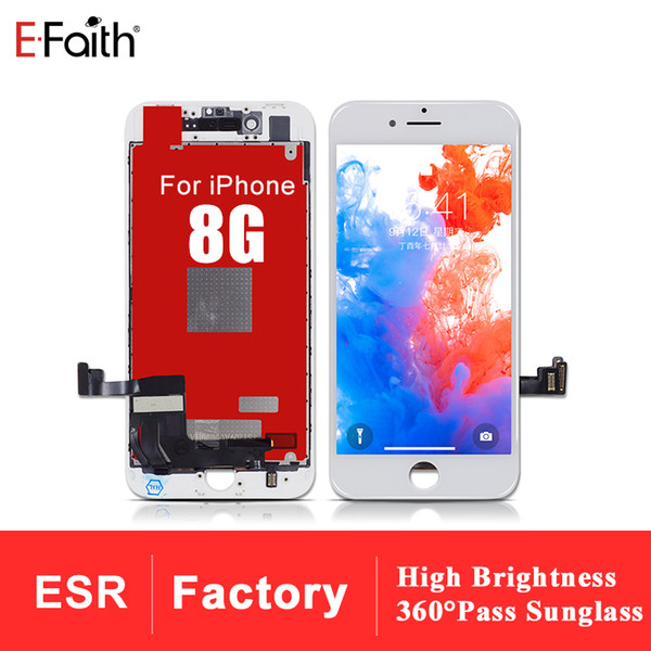 High Brightness and Resolution LCD For iphone 8 Old Tianma Qulaity With No Dead Pixel Smooth Touch With 1 year warranty