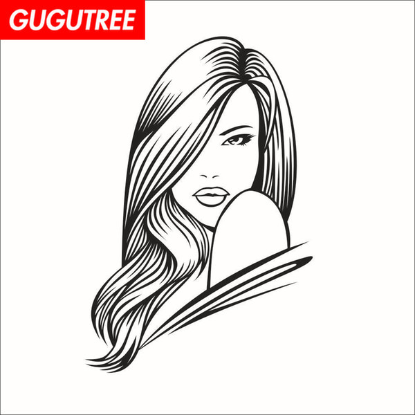 Decorate Home belle girl cartoon art wall sticker decoration Decals mural painting Removable Decor Wallpaper G-1678