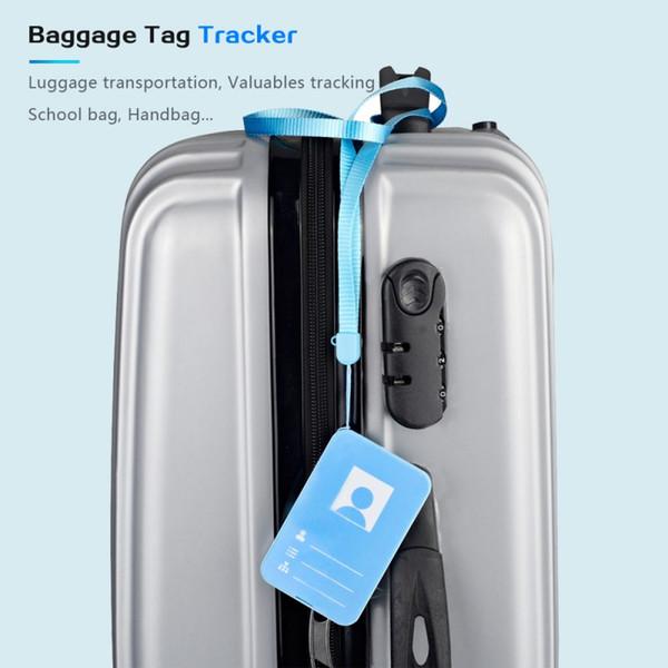 Intelligente anti-perso monitoraggio scheda GPS Tracker Oggetto posizione del cercatore Per il Supporto Portafoglio Deposito telecomando e audio a 2 vie