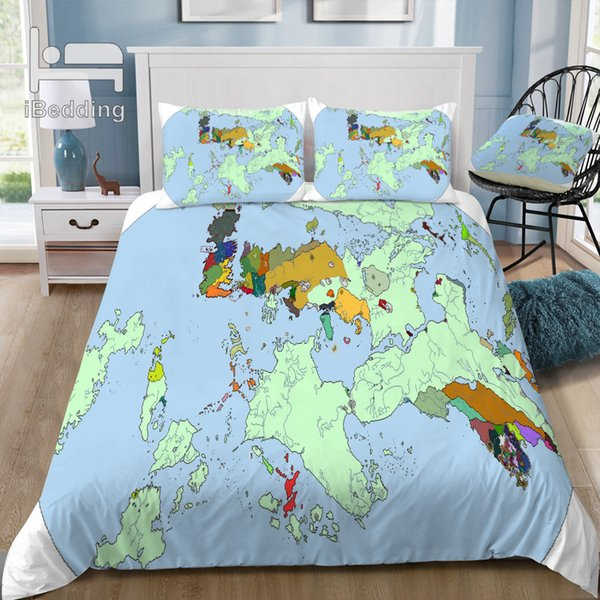 Hot Sale Map of Game-of-thrones-8 3D Bedding Set Printed Duvet Cover Set Twin Full Queen King Size Dropshipping