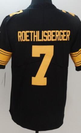 Erkek Pittsburgh 7 10 12 19 21 26 30 32 Jersey Klasik Sınırlı Buhar Gömlek Amerikan Futbolu Forması