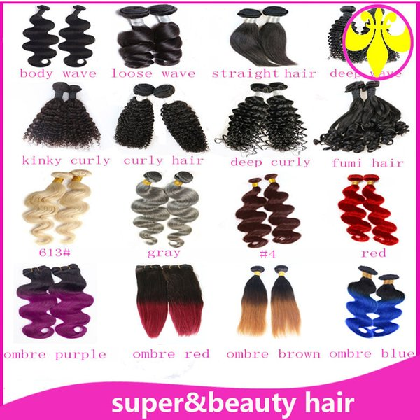 wholesale price grade 5a india body wave hair weave differ colors dye hair