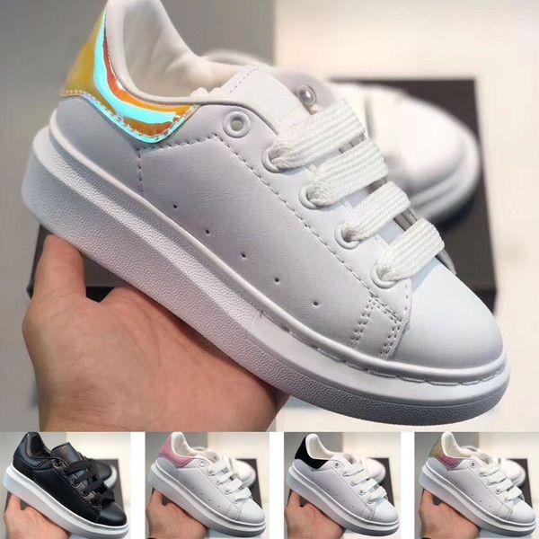 top popular 2020 Discount cut Low Casual Trainer Children Boy Girl Kids Skate Sneaker Fashion Sport Shoes size24-35 2021