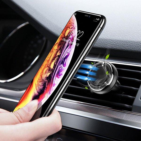 2 In 1 Mıknatıs Araç Telefonu Tutucu Evrensel Hava Temizleme Cep Telefonu Braketi