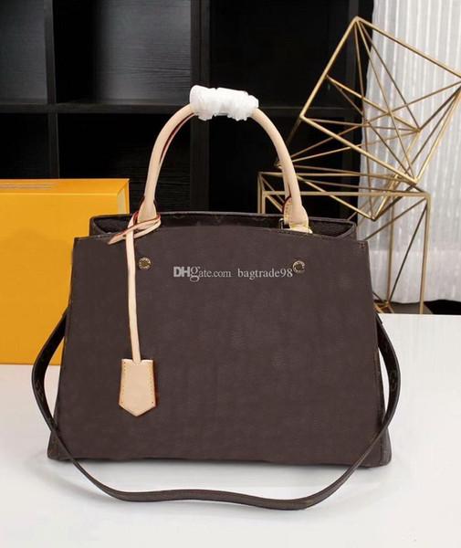 Famous Brand Men/Women M41056 Genuine leather Messenger bag handbag Have dust bag 2018 Crossbody bag CX#159 With Straps Wallets