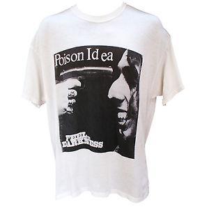 POIO-NeO-NeckN IDEA T Shirt Punk RoO-Neck Metal Fugazi NOFX Band Graphic Tee S M L XL XXL