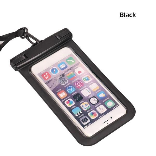 Copertura impermeabile impermeabile del sacchetto del pacchetto del telefono cellulare impermeabile del PVC della borsa per tuffarsi Nuoto prezzo economico di buona qualità mantenga la sicurezza del telefono