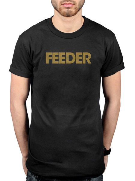 Official Feeder Logo T-Shirt Puching The Senses All Bright Electric Comfort In S Funny free shipping Unisex Casual Tshirt top
