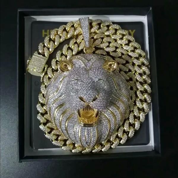Altın kolye + 24inch Link Zinciri