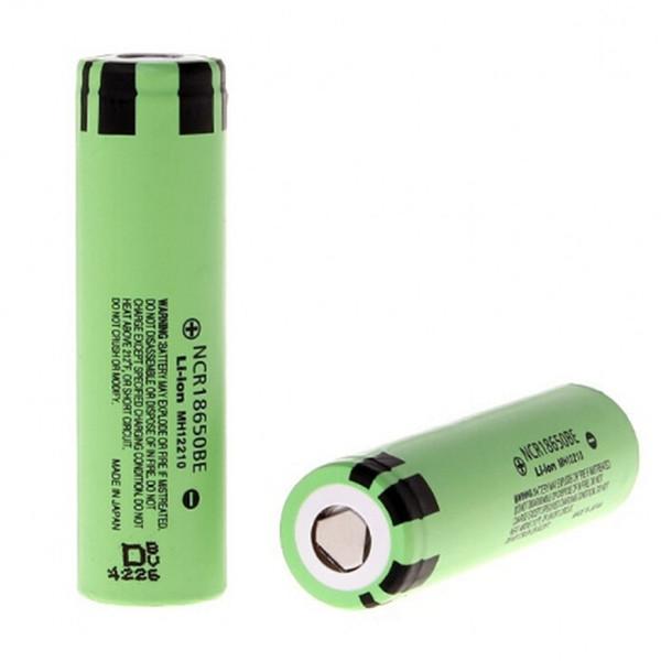 top popular 100% New Original 3400mah NCR18650B 3.7 v 3400 mah 18650 Lithium Rechargeable Battery For Flashlight batteries 2021