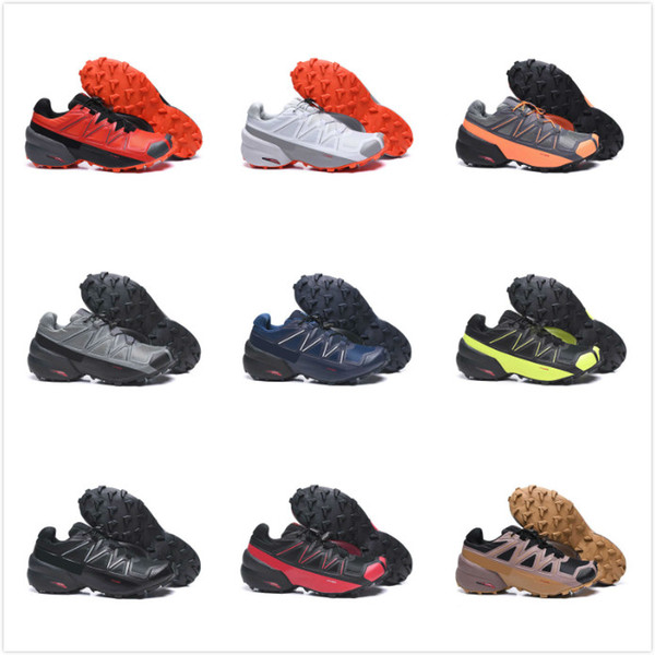 2020 new speed cross 5s outdoor casual shoes for men black white breathable athletics shoes men sports size 40-46
