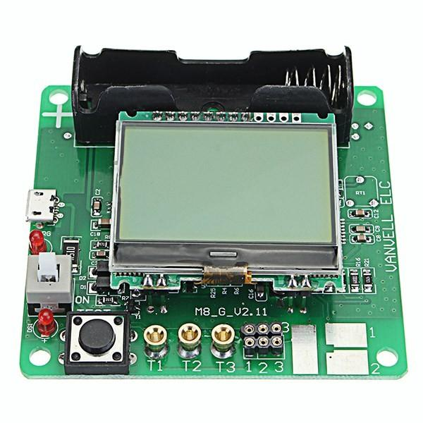 2019 New 3 7V DIY Transistor Graphic Tester LCD Digital Multimeter Diode Inductor Capacitor ESR Meter Shell Multifunction DIY Kit From Isyour