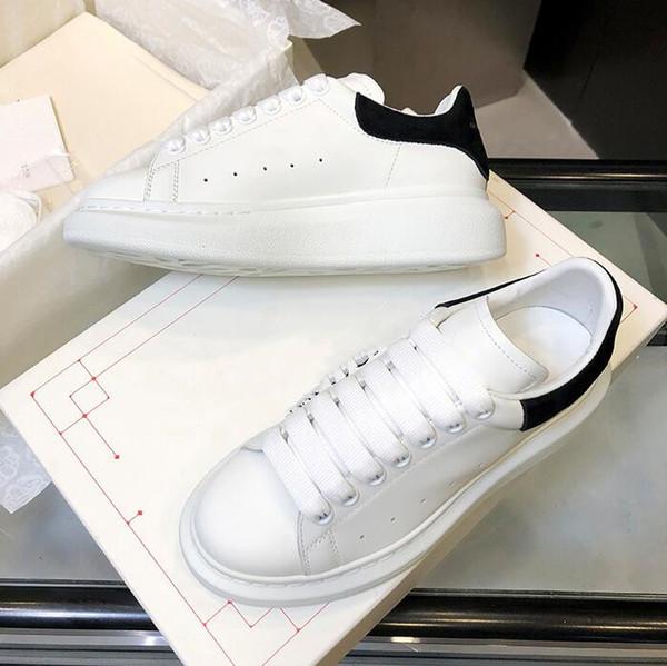 Designer Luxe Chaussures Femmes Hommes chaussures de fitness Casual Chaussures Mode Blanc Chaussures en cuir confortables plat Loisirs Sneaker