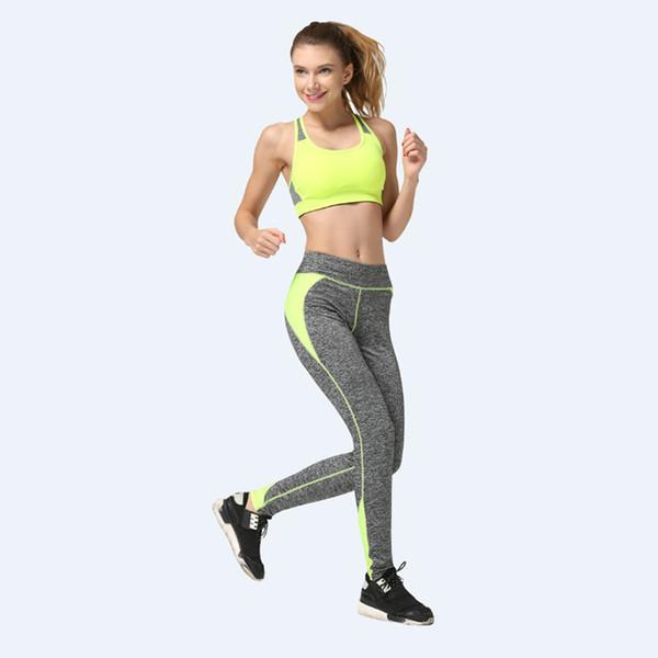 Yoga Women Pants Habit de Aptitude Haleter Run Training Legging Workout Trousers Sweat Tight Elastic Sports Capris Gym LNSYL
