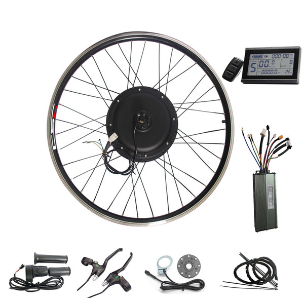 CSC KT LCD 3 display e-bike 48v Electric bike conversion kit 1500W pedal assist bicycle kit 20-29 inch Ebike Wheel