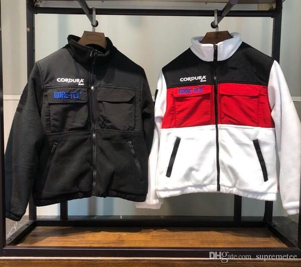 High Quality Brand expedition fleece jacket Men and Women Standing Collar Jacket Winter Warm Coat S-XL