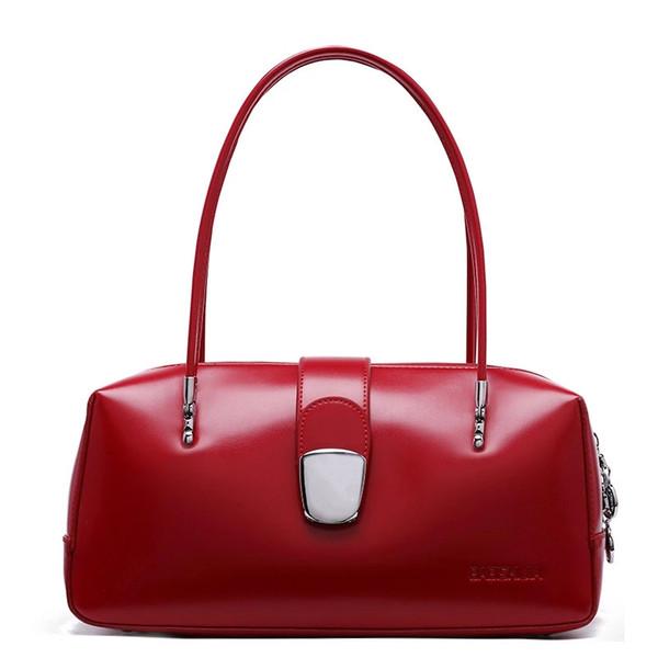 Women Handbags Leather Women Doctor Bag 2019 New Fashion Female Bag Handbags Ladies' Shoulder Simple Tote ~Big Capacity~7979