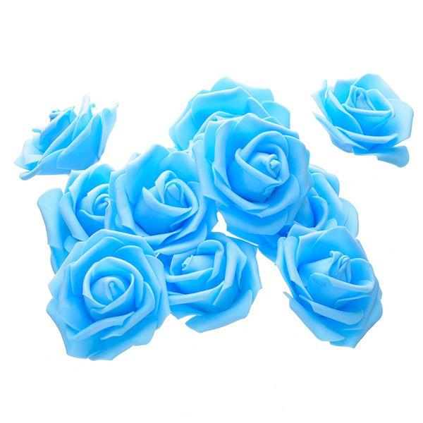 Pe Foam Rose Artificial Flower Heads For Diy Wreaths Wedding Event Decoration Home Garden Decorative Supplies Colorful