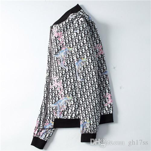 Luxurt Coats Nueva chaqueta de diseñador de moda para hombre con cremallera suelta chaqueta de dr dr de algodón de alta calidad para hombre talla M-3XL