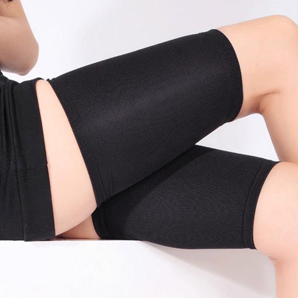 1 paire Femmes manches compression Leg Minceur Cuisse Shaper Chaussettes de soutien pour Yoga Sport Courir FG66