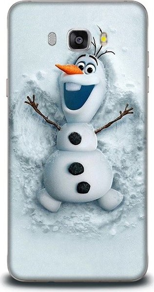 top popular For samsung dynamics happy snowman patterned case case 2016 j5 ship from turkey HB-000058261 2019
