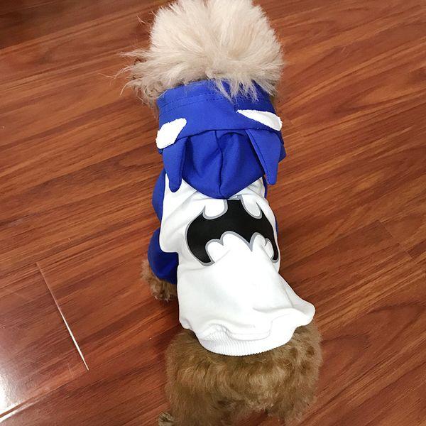 Spring Autumn Pet Clothes Teddy Bichon French Bulldog Small Dog T-Shirt Hoodies Cat Dog Fashion Print Apparel Clothing 3 Color