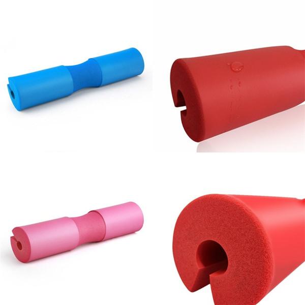 Protéger Pad Squat Barbell épaule cou Retour Gel support Pull Up pratique Grip outil de culturisme éponge douce 13hf V