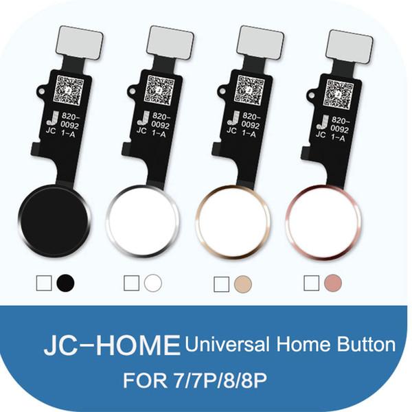 JC Universal Home Button para iPhone 7/7 plus / 8/8 mais retorno botão de tela de volta função de captura de tela Screen Shot No Touch ID