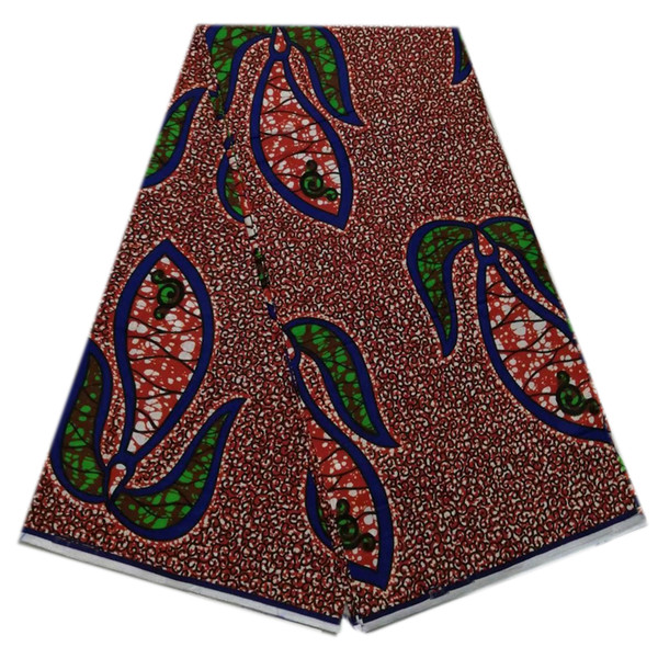2019 African Hollandais Wax Fabric high quality Cotton material Nigerian hot sale wholesale price prints for sewing cloth