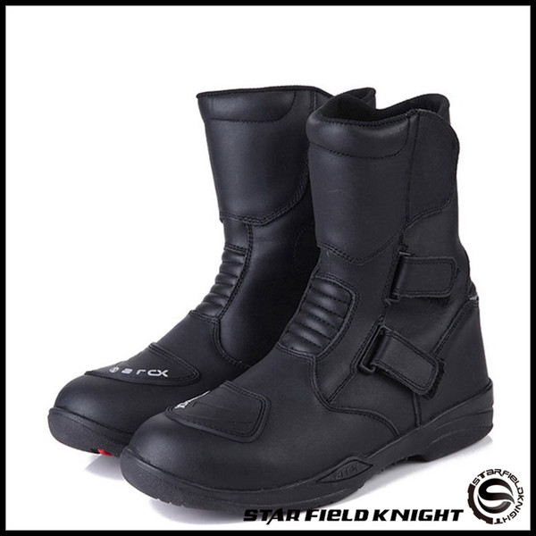 arcx motorcycle waterproof boots leather windproof shoes men knight boots riding shoes 39 40 41 42 43 44 45