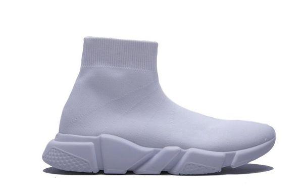 2019 neue Luxus Designer Socke Schuhe Geschwindigkeit Trainer Stretch Knit Mid Sneakers Mode Männer Frauen Socke Schuh Outdoor Liebhaber Casual Stiefel 36-45