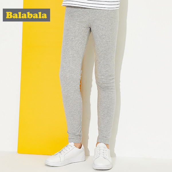 Children Trousers Casual Leggings For Girls Cotton Pants For Girls Soft Bottoms Legging Spring Pants For Sports