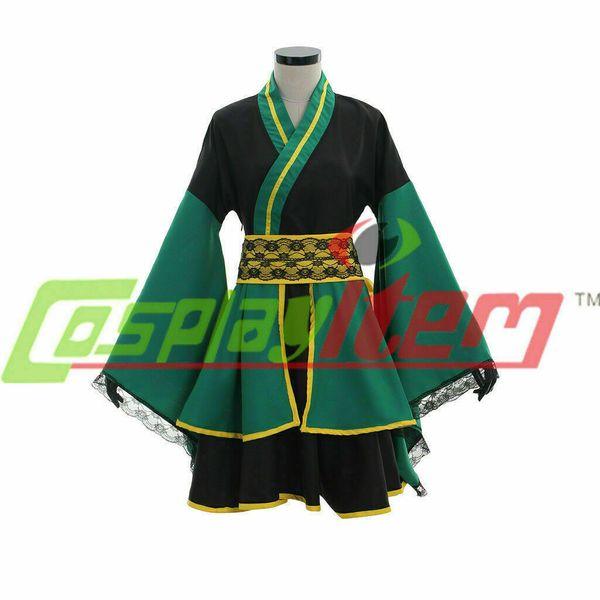 Локи кимоно платье косплей костюм наряд