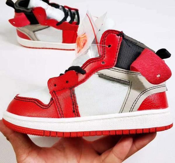 Büyük Çocuklar Yürüyor Boys Spor Ayakkabı için Orta Basketbol Ayakkabı Küçük Kızlar Sneakers Çocuk Kaykay Çocuk Paten Sneaker Gençlik Spor Çocuk