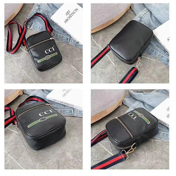 Diseñador Fannypack Bolsos de cuero de la PU Marca Mujeres Cintura Bolsa Hombres Crossbody Hombro Bolsos Moda Viajes Almacenamiento Totes Teléfono Monedero B72601
