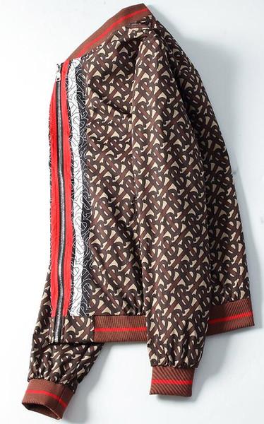 Comércio exterior moda masculina high-end jaqueta casaco cross-border hot uniforme de beisebol bonito bonito dos homens à prova de explosão jaqueta