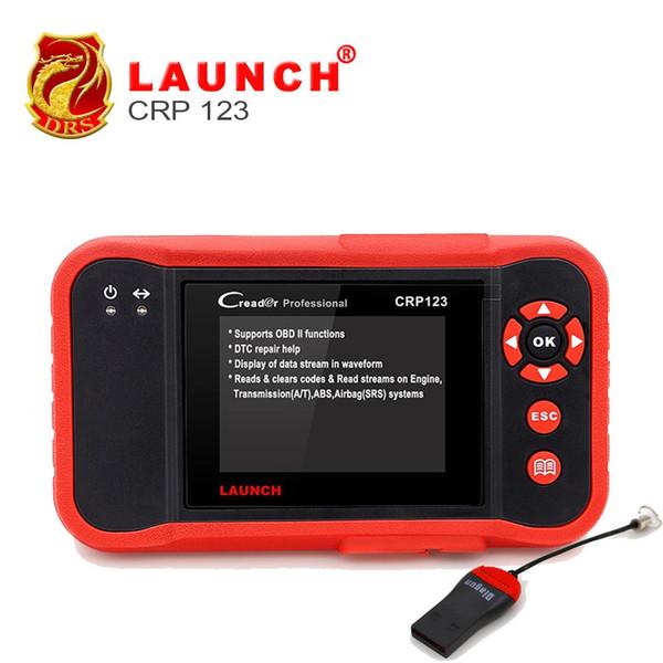 LAUNCH X431 Creader CRP123 OBD2 Scanner Automotive Scanner for ABS Airbag SRS Engine Transmission Better NT630 Diagnostic Tool