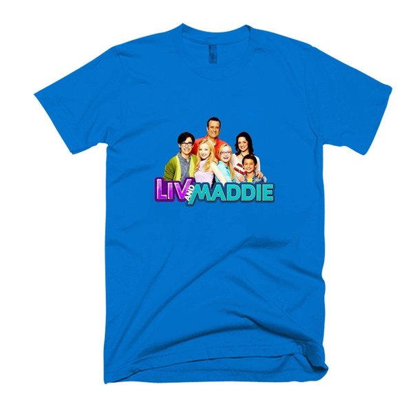 Kids Liv y Maddie Character para hombre / camiseta para mujer fan pants camiseta miedo cosplay liverpoott camiseta para hombre orgullo camiseta oscura