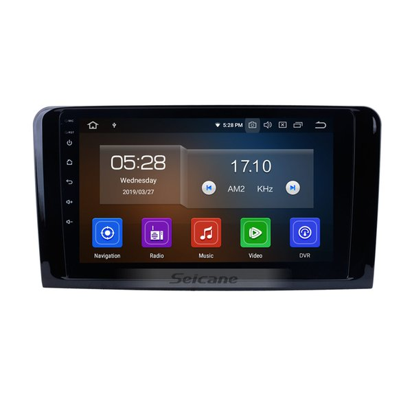Android 9.0 Car Radio for 2005-2012 Mercedes Benz MLClass W164 ML280 ML300 ML320 ML350 ML420 ML450 ML500 ML550 ML63 with USB support car dvd