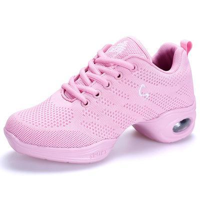 Square Dance Schuhe Jazz Sailor Spring Ghost Step Damen Erwachsene Damen Soft Bottom Shuffle Dance Schuhe Portabilität Schweißabsorption Neuer Schuh