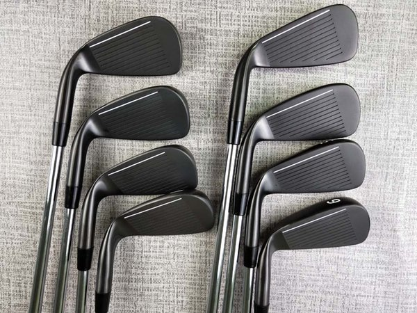 New Golf Club 0311XF Black Irons 8 piece Suits White Paint 3-9.W Loft With Head Cover Free Delivery