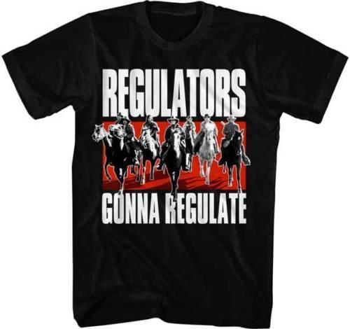 Young Guns Reguladores de películas que regularán una camiseta para adultos Camisetas para hombres Camiseta con impresión directa digital de manga corta cuello redondo 3XL Camiseta gráfica