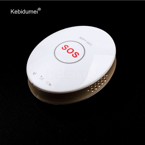 Kebidumei Mini GPS Tracker MD-601 Vehicle Tracker GPS Locator with SOS emergency Alarm Personal Locator