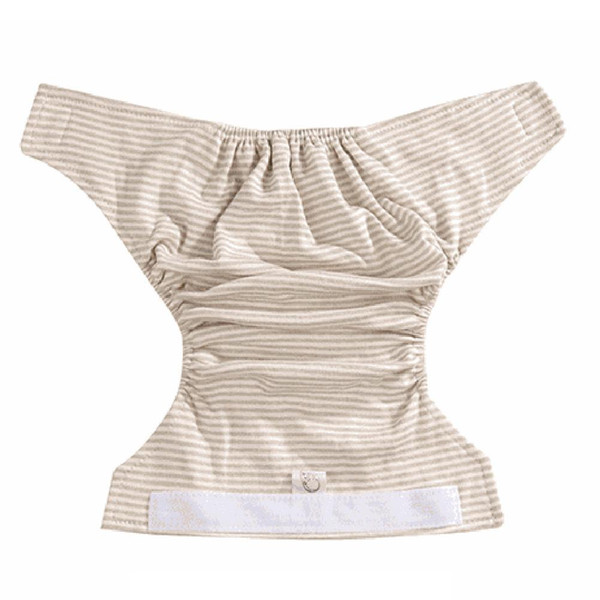 Fashion Reusable Stripe Baby Infant Cotton Nappy Washable Adjustable Diaper Underwear