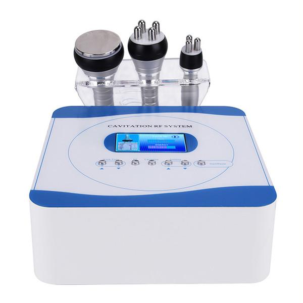 2019 NEUE Kavitation Ultraschall Gewichtsverlust Schönheit Maschine Multipolare RF Radiofrequenz Hautstraffung Straffen Anti-Falten-Verjüngung