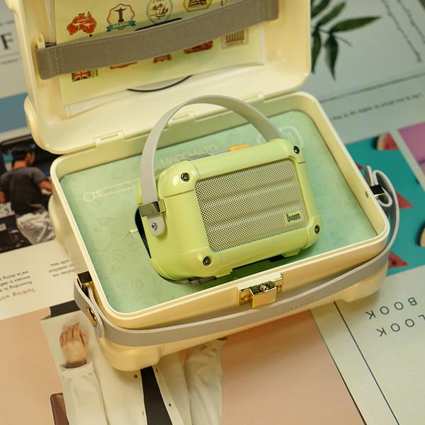 Nouveau Divoom Macchiato Bluetooth sans fil Haut-parleur vert Matcha lecteur de musique porte sur portable main Radio Metal Girl