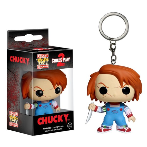 Funko Pocket POP Keychain - Ghost baby Chachi Vinyl Figure Keyring with Box Toy Gift Buena calidad