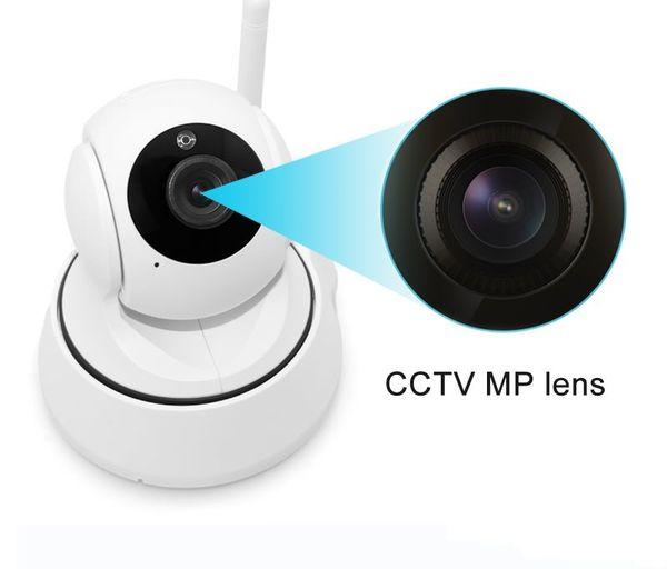 1.0MP Home Wireless IP Camera Wifi 720P Smart IR-Cut Night Vision P2P Baby Monitor Surveillance Onvif Network Security Camera